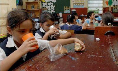 Gobernación aún no distribuye merienda escolar