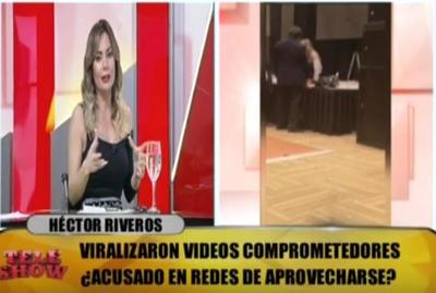 Dahiana Bresanovich opinó sobre polémico vídeo de Héctor Riveros