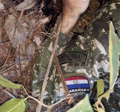 Hallan cadáver de militar entre PJC y Curuguaty