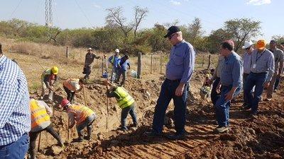 Acueducto en el Chaco culmina esta año, confirma Gobernador de Alto Paraguay