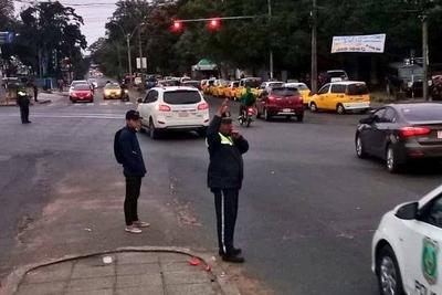 HOY / Tránsito a paso peatonal: los puntos conflictivos por protesta de taxistas