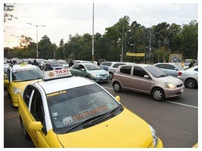 Balearon a un taxista cuando iba a la movilización