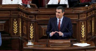 El Parlamento español vota la investidura de Sánchez