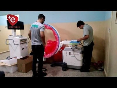 INSTALAN EQUIPO DE CIRUGÍA EN EL IPS DE ENCARNACIÓN
