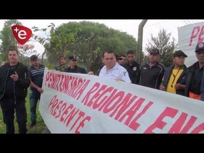 ANUNCIAN PARO DE FUNCIONARIOS PENITENCIARIOS EN ITAPÚA