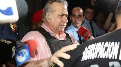 HOY / Óscar González Daher solicita al juzgado salir de la cárcel