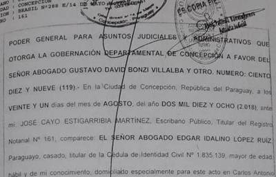 Tiran fardo sobre asesor destituido, pero el poder lo compartía con Gustavo Bonzi