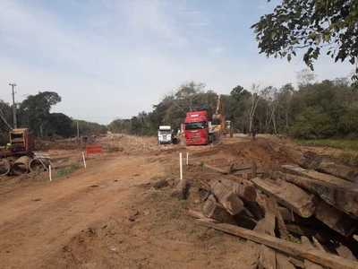 Avanza puente que beneficiará a San Carlos y Puentesiño