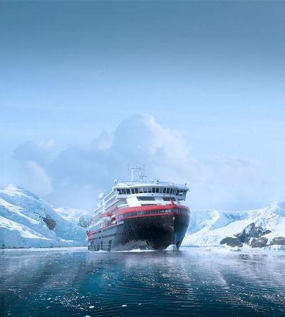 """""""Roald Amundsen"""", el primer crucero híbrido del mundo"""