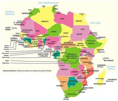 Países africanos