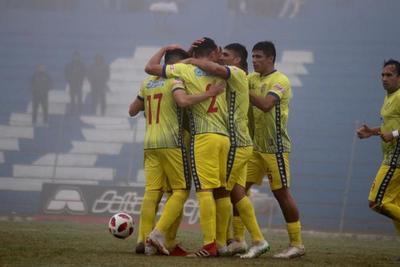 Deportivo Capiatá golea a Aquidabán, en Pedro Juan Caballero