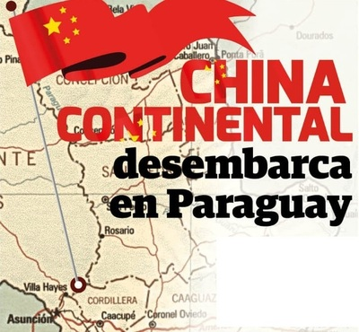 China Continental desembarca en Paraguay