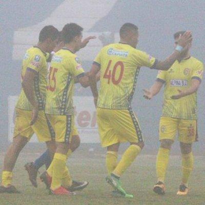 Copa Paraguay: La neblina no impidió goleada de Capiatá ante el Aquidabán