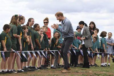 Enrique y Meghan visitan a los agricultores en Australia