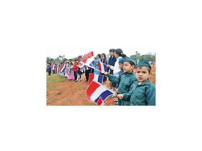 En acto conmemoran    batallas de  Cordillera
