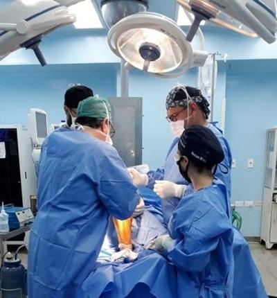 Realizan histórica cirugía en IPS de CDE
