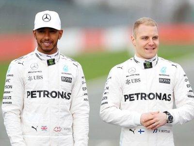 Hamilton y Bottas buscan otro doblete en el 125 aniversario de Mercedes