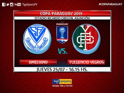 Ameliano y Fulgencio Yegros debutan en Campo Grande