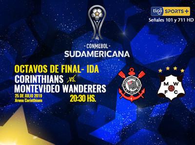 Corinthians y Montevideo Wanderers se miden por primera vez