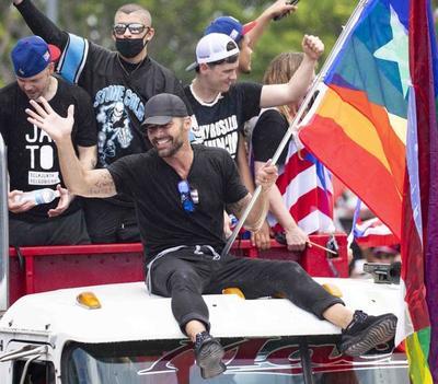 Ricky Martin y René de Calle 13 lideraron una manifestación que hizo renunciar al gobernador de Puerto Rico