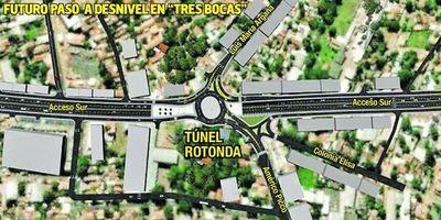 """Túnel  en """"Tres Bocas"""" , el más cercano a concretarse, según MOPC"""