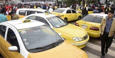Junta Municipal podría suprimir las paradas de taxis en Asunción