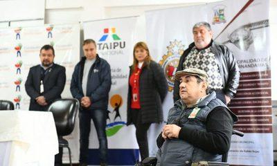 ITAIPU y Fundación Solidaridad entregan sillas de ruedas y ayudas técnicas en Hernandarias