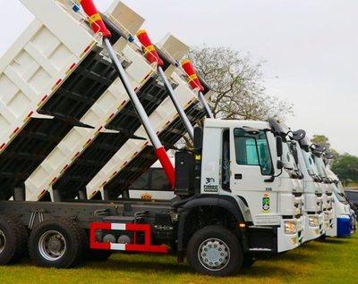 Gobernación compró tres camiones con 35 % de sobrefacturación