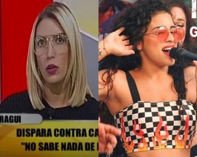 """Carmiña """"ninguneó"""" a vocalista de """"Las Solteras"""" y le dejó un contundente mensaje"""