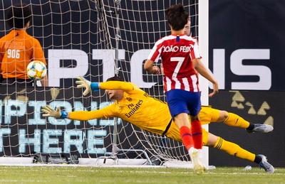 Paliza histórica del Atlético Madrid ante el Real Madrid en Estados Unidos