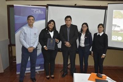Tesis sobre recorrido virtual interactivo 3D de la Misión Jesuítica de Trinidad, fue presentado por alumna de Ingeniería Informática