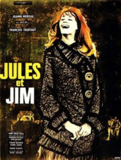 Cine francés Jules y Jim este lunes con proyección gratuita