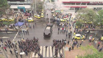 """""""Fiebre amarilla"""" en Asunción"""