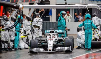 """Hamilton: """"Cometí un error y pagué el precio"""""""