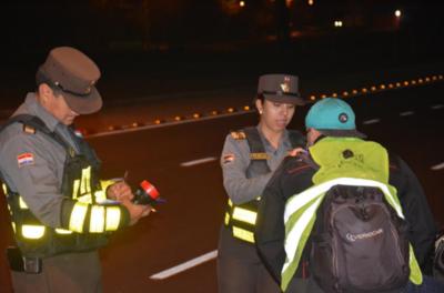 Sacan de las rutas a 239 conductores ebrios