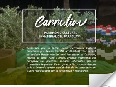 Declaran al carrulim 'patrimonio cultural inmaterial'
