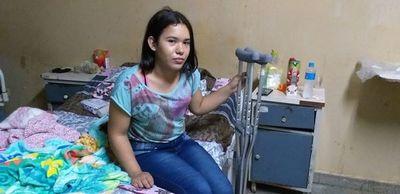 Mercedes, la joven que se robó el corazón de la misión de IMAHelps