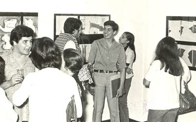 Félix Toranzos celebra cuatro décadas de exposiciones