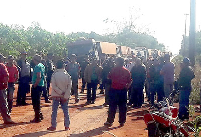 Mandioqueros retoman movilizaciones y reclaman acciones al Gobierno central