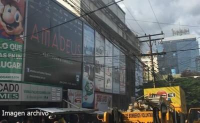 Nuevo susto por principio de incendio en Jebai Center