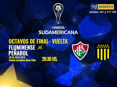 Peñarol va por la hazaña ante Fluminense en el Maracaná