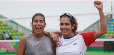 Paraguay se queda en el puesto 7 en el Beach Volley