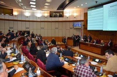 Senadores analizan declaración para rechazar acuerdo energético