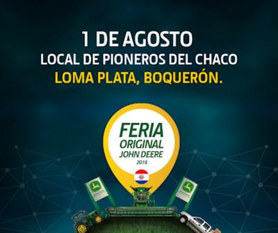 """HOY / Llega la """"Feria Original"""" John Deere – Automaq 2019"""