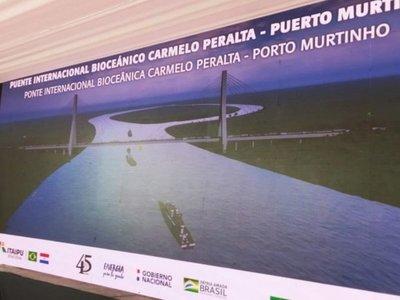 Crisis de Itaipú no afectará construcción del puente bioceánico