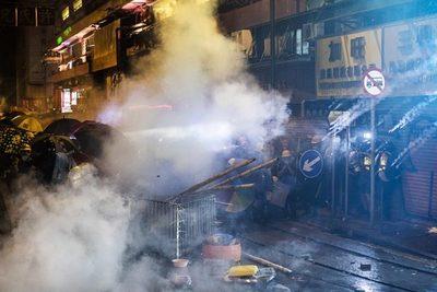 China acusa a EE.UU. de incitar protestas