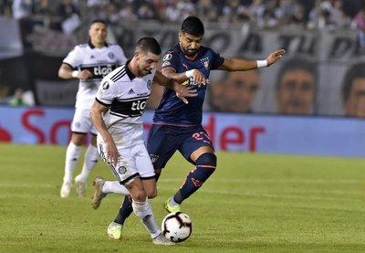 Decepción franjeada: Olimpia empató contra Liga de Quito y quedó eliminado