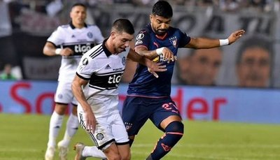 Olimpia quedó fuera de la Libertadores