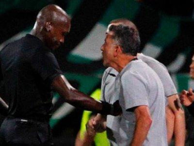 Osorio recibe una dura sanción por agredir a un árbitro