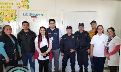 En la USF del km 12 Acaray trabajan con custodia de guardias de seguridad